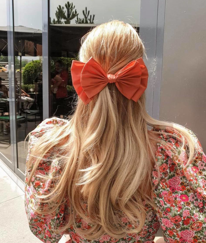 bow hairstyles - nine gorgeous ways to put a bow on it