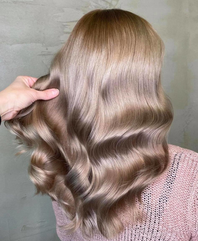 dreamy winter hair colors for 2021
