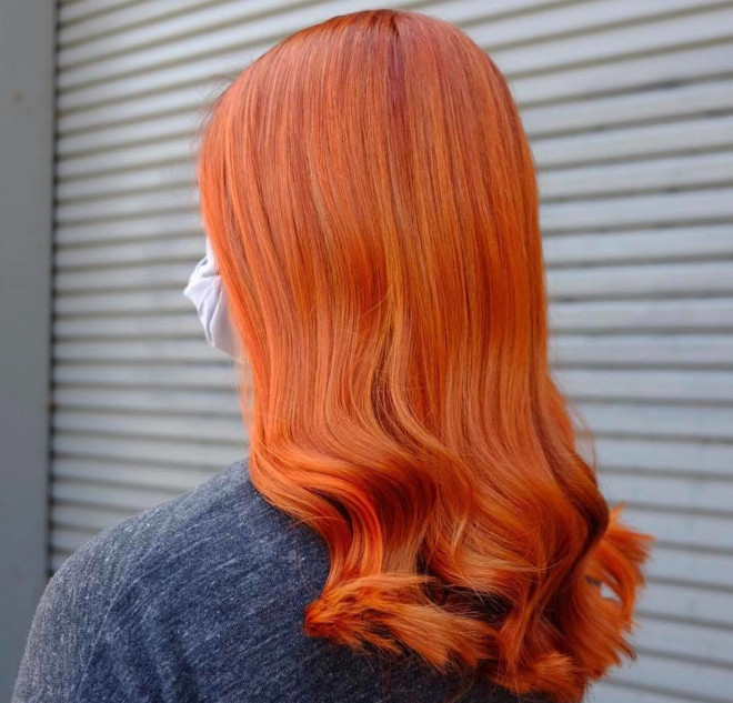 fiery hair colors for a bold start of 2021 5