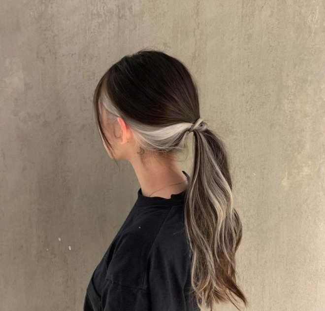 hidden hair colors to try for a chic low-maintenance look 6