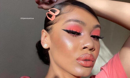 Refresh Your Cold Days With These Mesmerizing Coral Makeup Looks For Winter