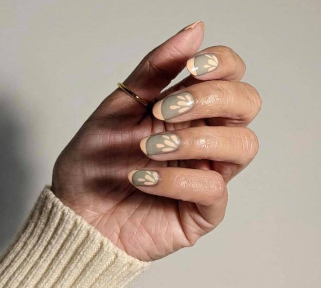 short french manicure ideas to dress your tips 5