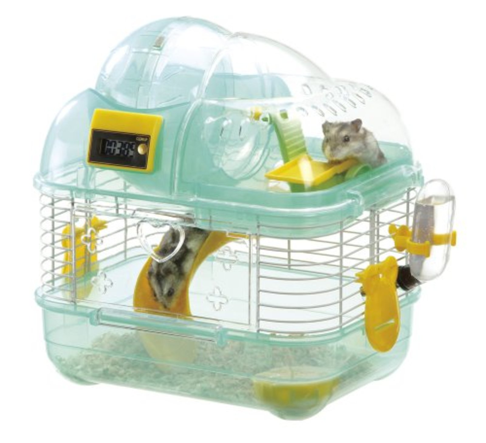 Hamster cage Slide Climb Play Round 2nd floor counter S F S w Tracking  Japan