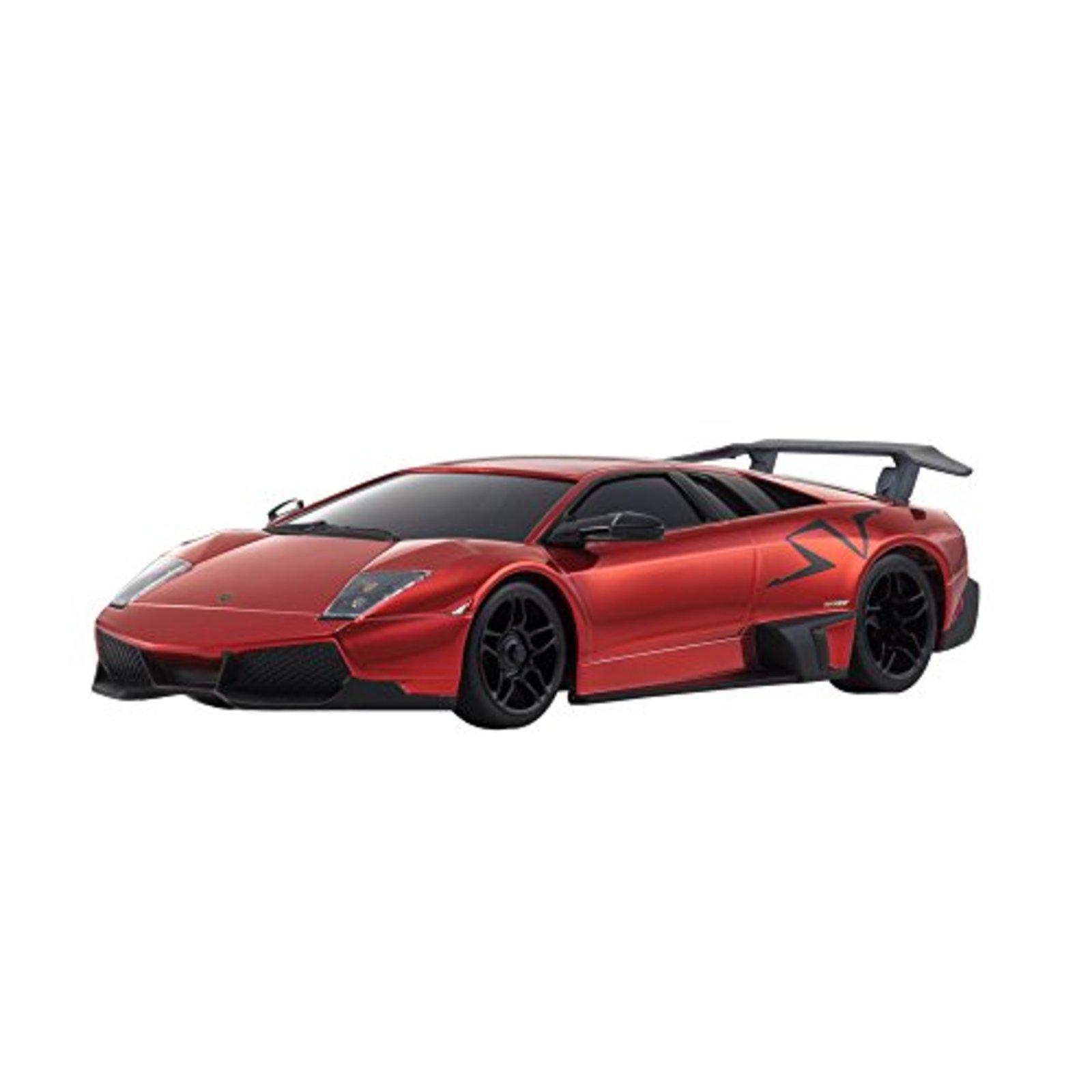 Kyosho Mini Z MZP215CR Lamborghini Murcielago LP670 Cromo Rojo F s con seguimiento