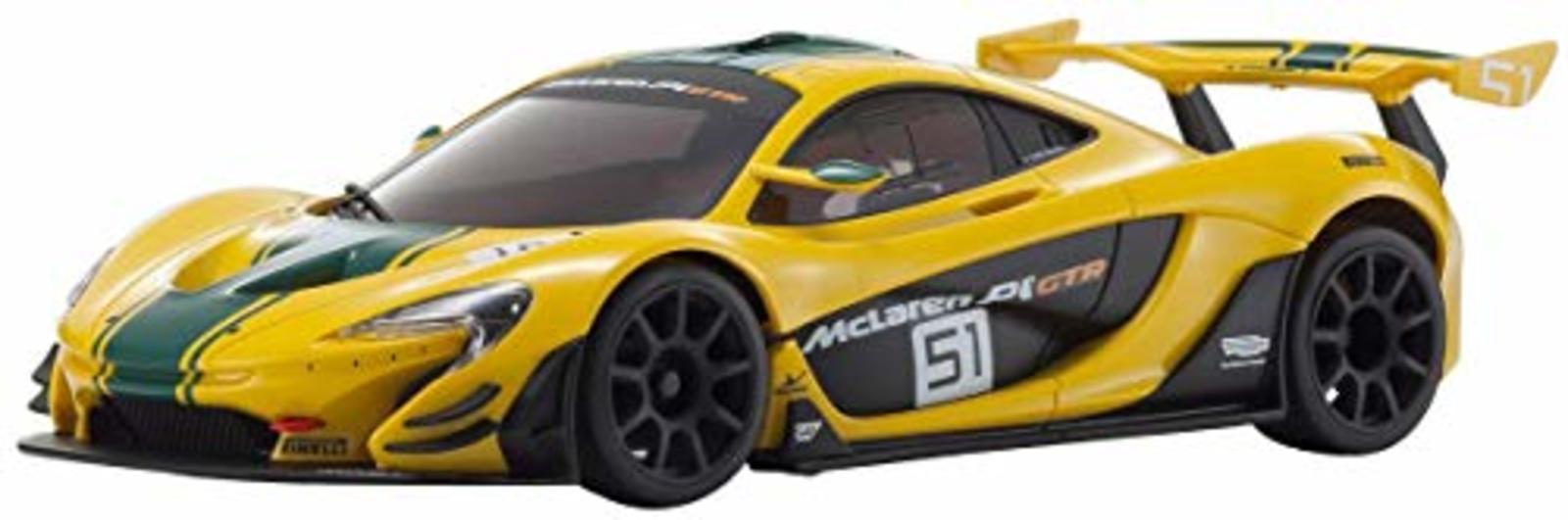Kyosho MZP235YG ASC MR03RWD McLaren P1 GTR Amarillo verde F s con seguimiento Japan