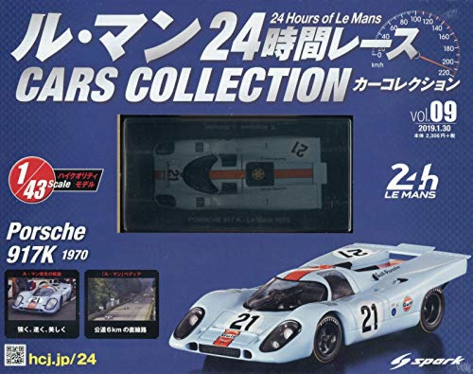 Le hommes  1 43 voitures collection 9 PORSCHE 917K (1970) F S avec Nº de suivi le Japon NEUF  nouveau sadie