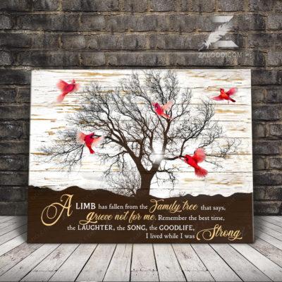 Zalooo Butterfly Best Canvas A Limb Has Fallen Wall Art Decor - zalooo.com